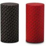 Japanse theeblik zwart en rood 200 gram